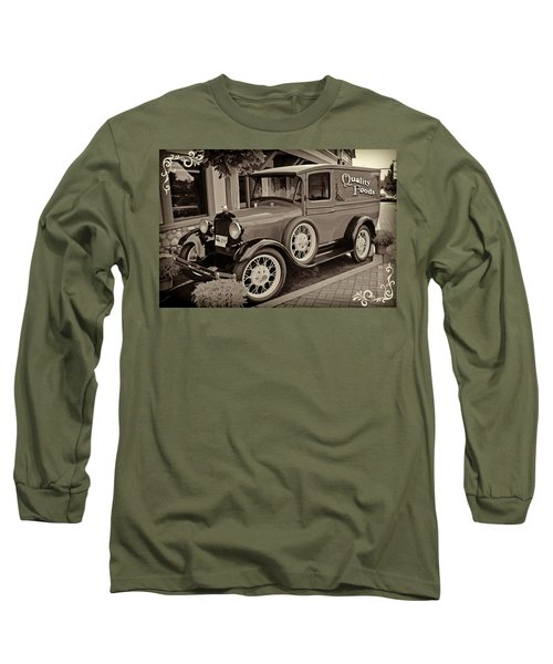 1930 Ford Panel Truck Long Sleeve T-Shirt