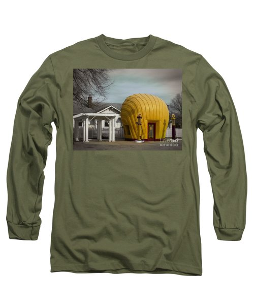 1930 Shell Station Long Sleeve T-Shirt