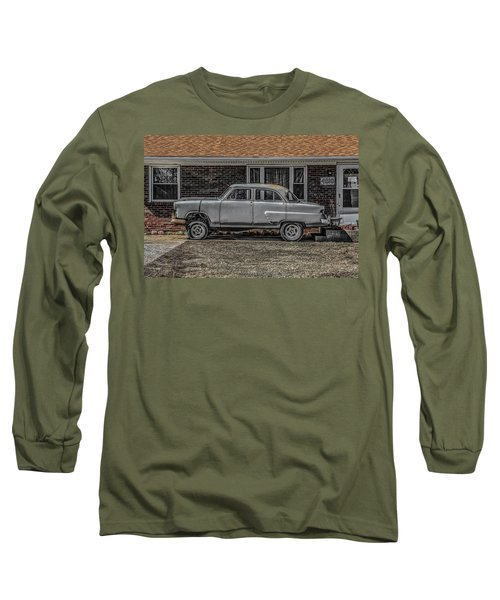 1952 Ford Long Sleeve T-Shirt by Ray Congrove