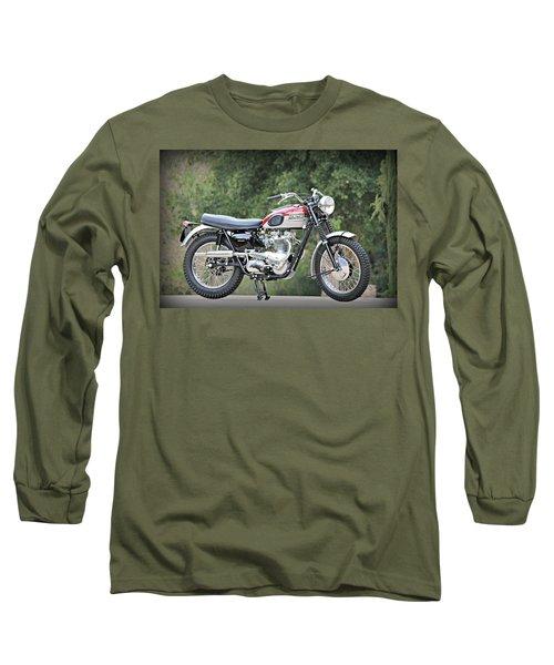 1961 Triumph Tr6c Long Sleeve T-Shirt