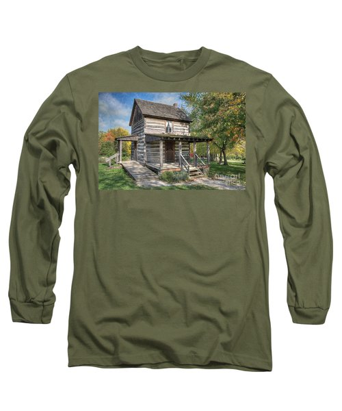 19th Century Cabin Long Sleeve T-Shirt