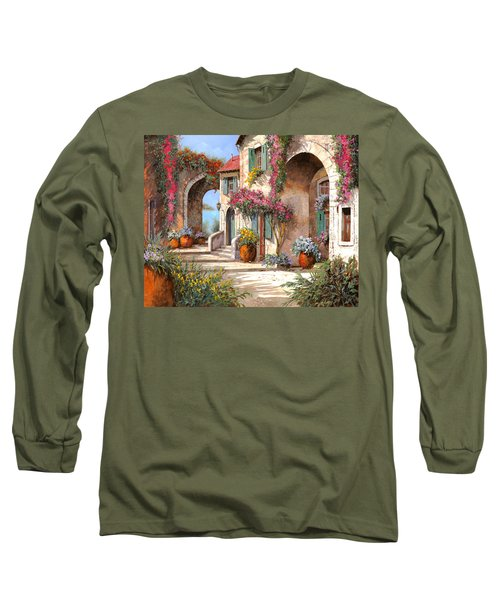 Archi E Fiori Long Sleeve T-Shirt