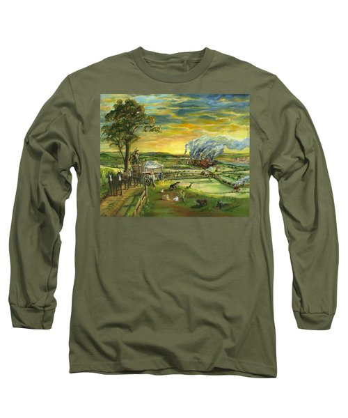 Bleeding Kansas - A Life And Nation Changing Event Long Sleeve T-Shirt