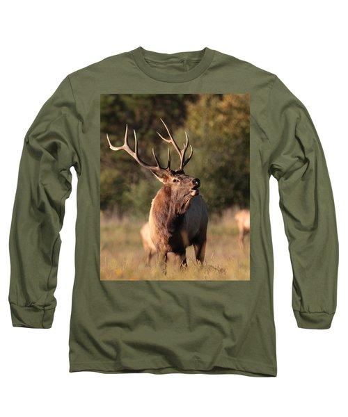 Bugling Bull Elk Long Sleeve T-Shirt
