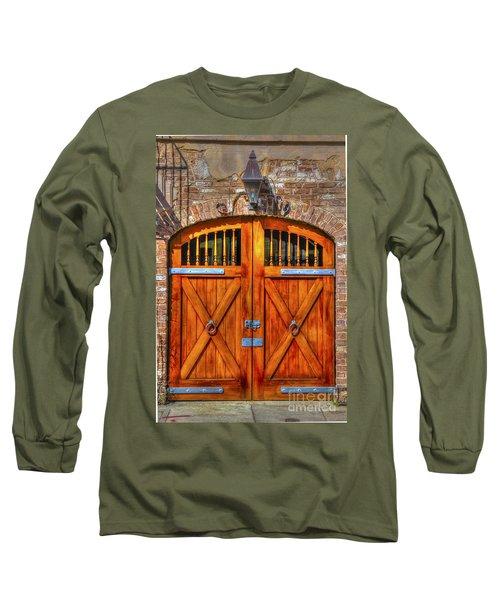Doors Of Charleston Long Sleeve T-Shirt