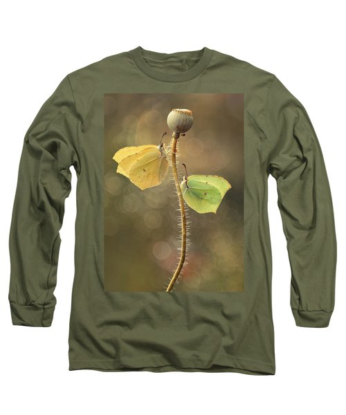 Long Sleeve T-Shirt featuring the photograph Duet by Jaroslaw Blaminsky