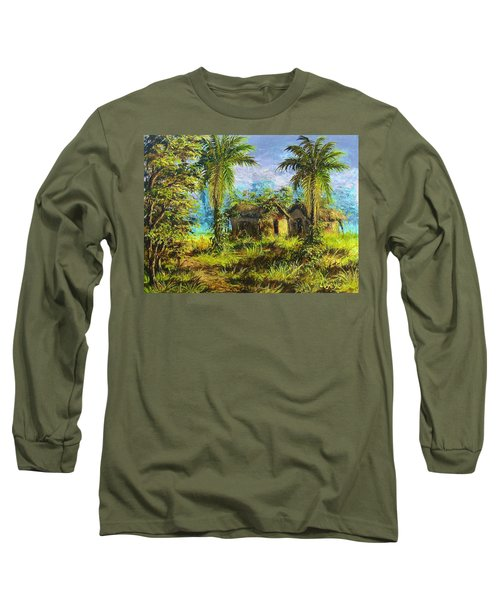 Forest House Long Sleeve T-Shirt
