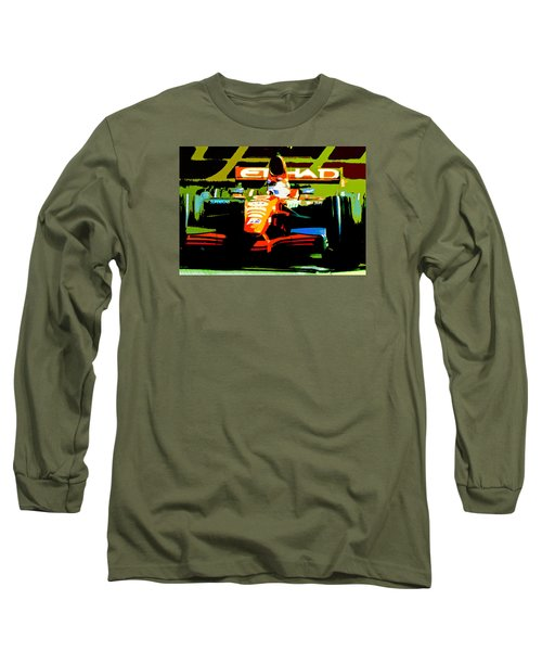Formula One Long Sleeve T-Shirt by Michael Nowotny