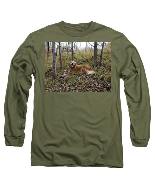 Long Sleeve T-Shirt featuring the photograph Happiness Is by Rhonda McDougall