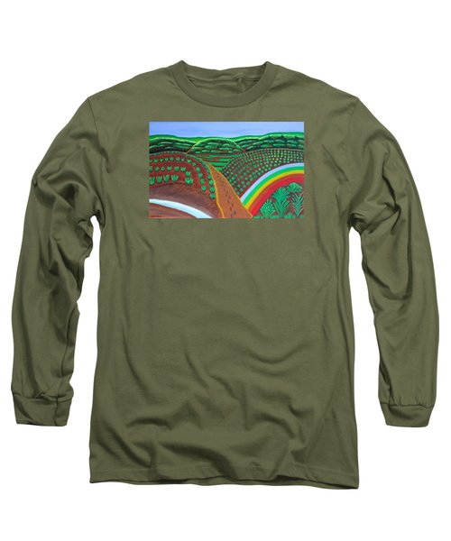 Hidden Forest Long Sleeve T-Shirt by Lorna Maza