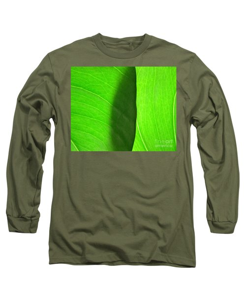 In Passing Light Long Sleeve T-Shirt by CML Brown