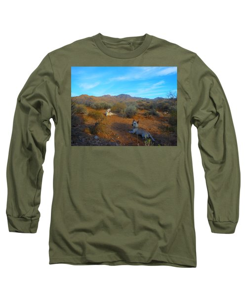 Mocha And Paco Long Sleeve T-Shirt
