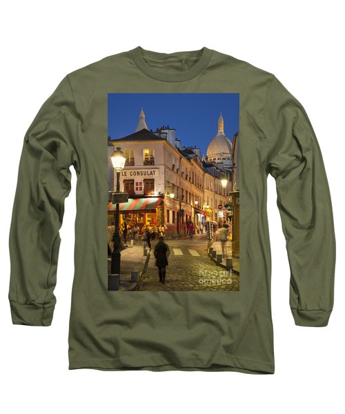 Montmartre Twilight Long Sleeve T-Shirt
