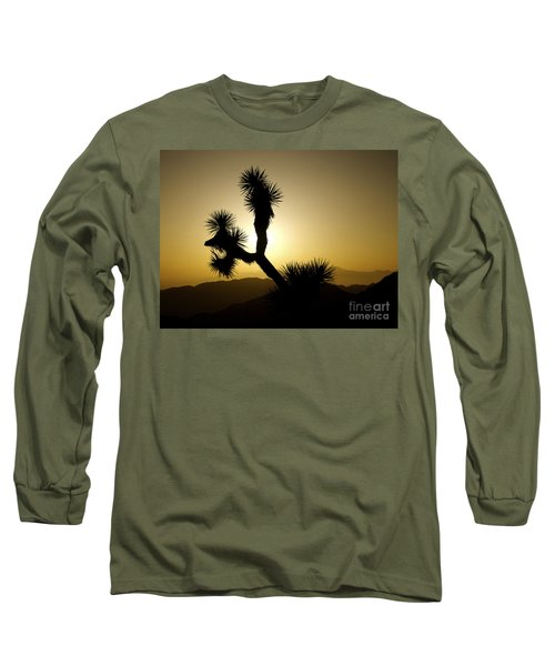 New Photographic Art Print For Sale Joshua Tree At Sunset Long Sleeve T-Shirt