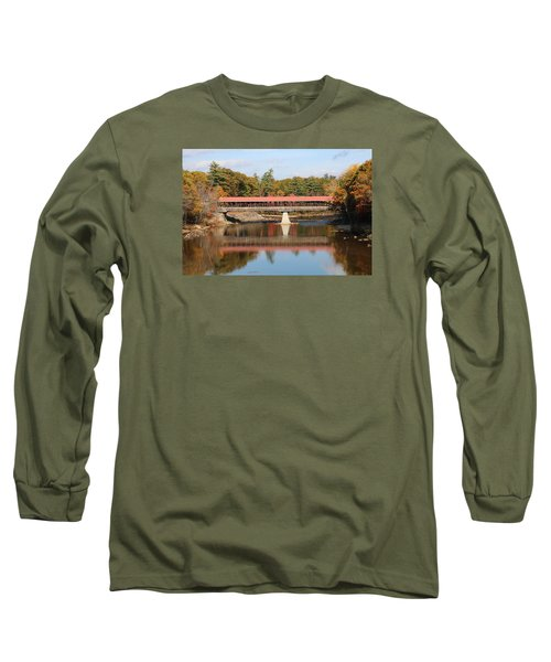 Nh Covered Bridge  Long Sleeve T-Shirt