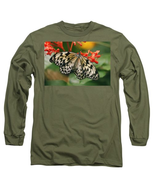 Paper Kite Butterfly Long Sleeve T-Shirt