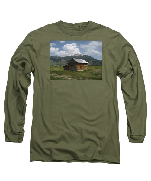 Paradise Valley Montana Long Sleeve T-Shirt