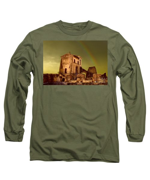 Ruin At Palatine Hill Long Sleeve T-Shirt