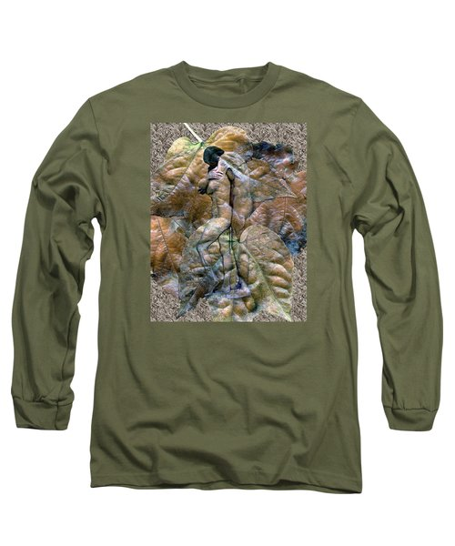 Sheltered Long Sleeve T-Shirt by Kurt Van Wagner