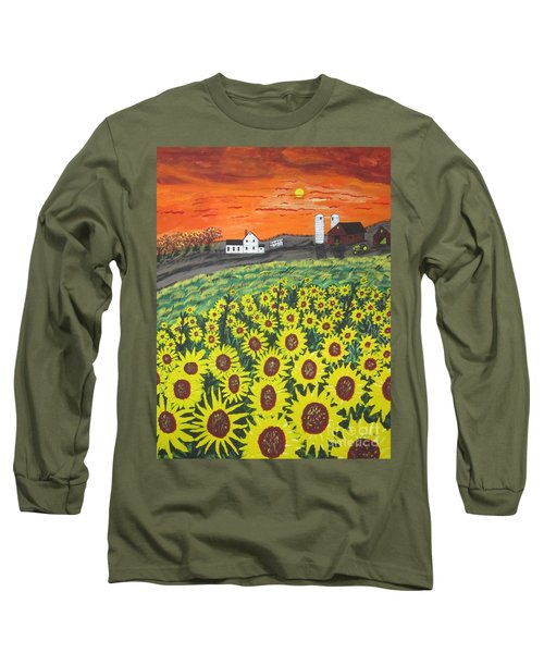 Sunflower Valley Farm Long Sleeve T-Shirt