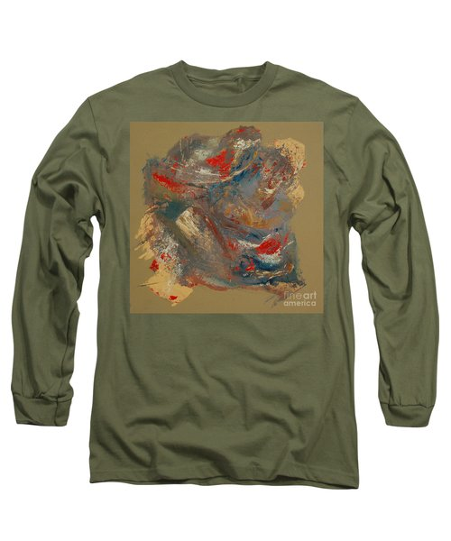 Long Sleeve T-Shirt featuring the painting Syncopation 2 by Mini Arora