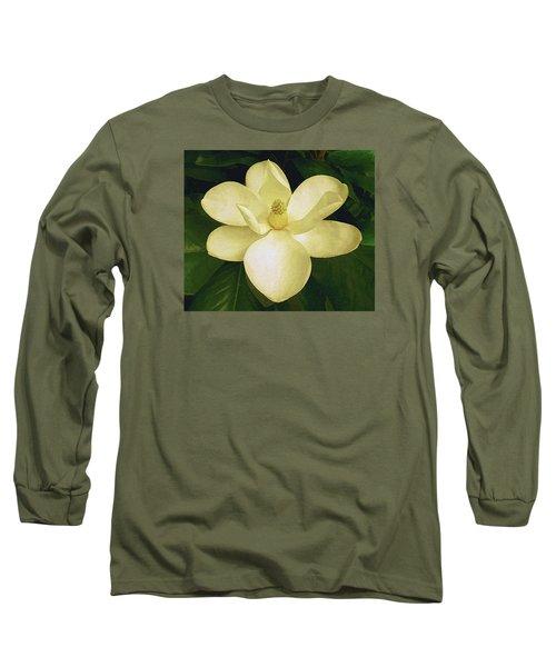 Vintage Magnolia Long Sleeve T-Shirt
