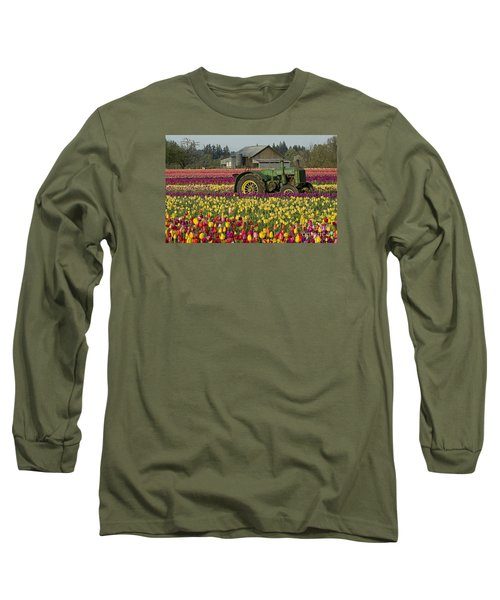 Long Sleeve T-Shirt featuring the photograph With Toil Comes Beauty by Nick  Boren