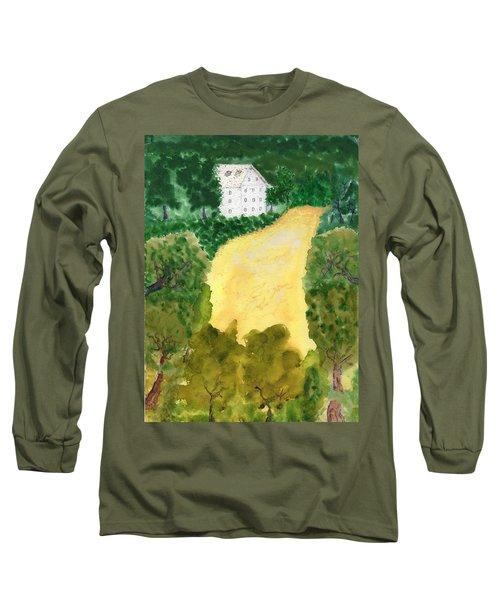 21 Room House On Golden Lake Dream Long Sleeve T-Shirt