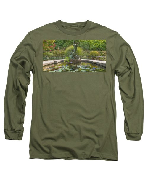 Long Sleeve T-Shirt featuring the photograph Park Beauty by Theodore Jones