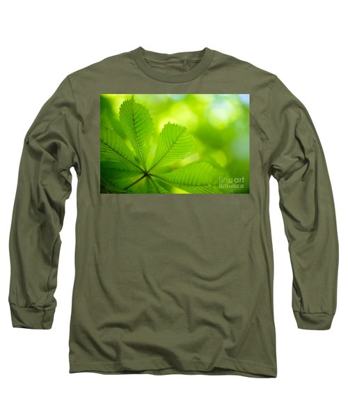 Spring Green Long Sleeve T-Shirt