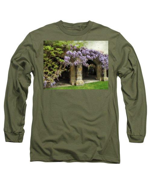 Spring Wisteria Long Sleeve T-Shirt