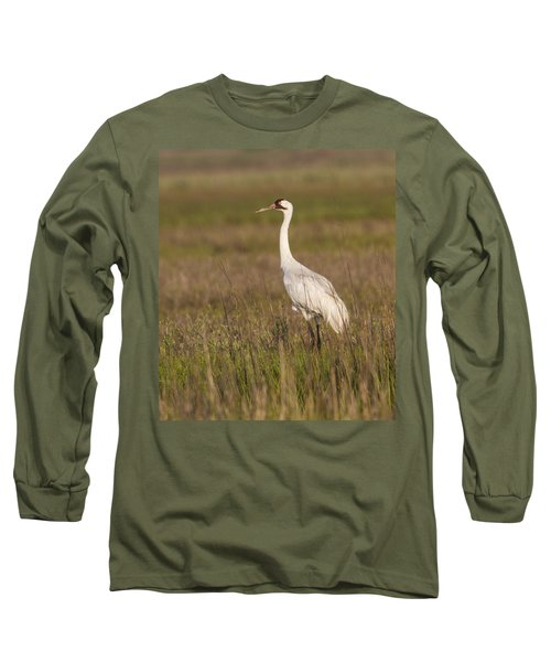 Whooping Crane Long Sleeve T-Shirt