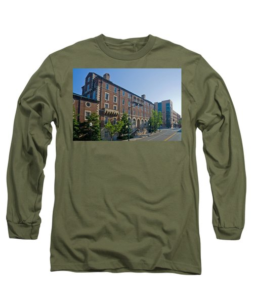 Downtown Knoxville Long Sleeve T-Shirt by Melinda Fawver