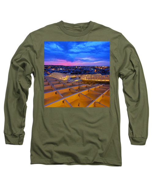 Metropol Parasol In Seville Long Sleeve T-Shirt