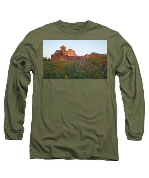 Presidio La Bahia 2 Long Sleeve T-Shirt by Susan Rovira