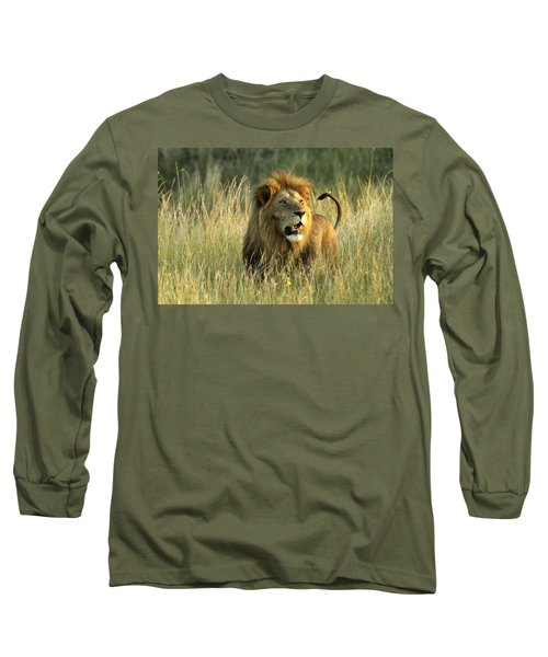 King Of The Savanna Long Sleeve T-Shirt