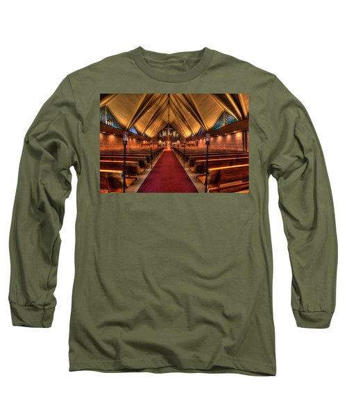 Woodlake Lutheran Church Long Sleeve T-Shirt