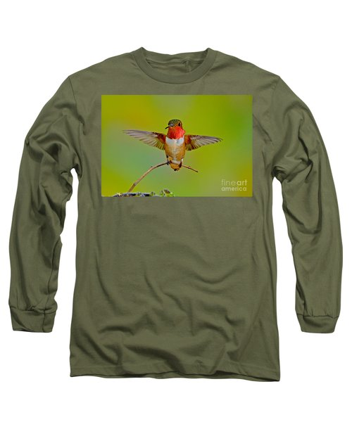 Allens Hummingbird Long Sleeve T-Shirt