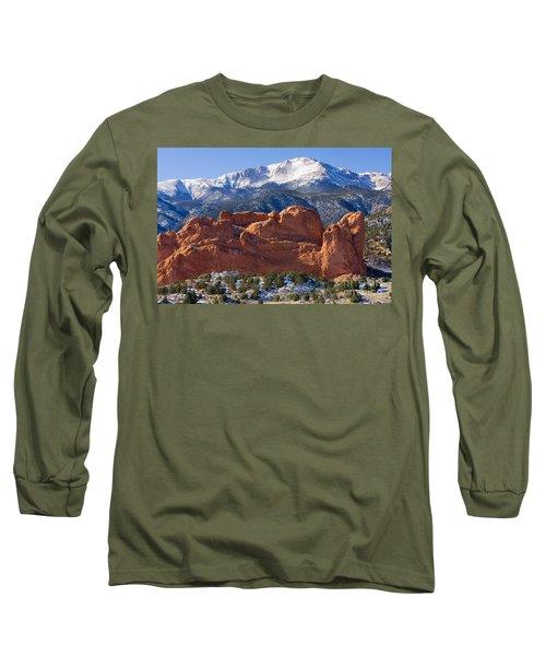 Garden Of The Gods Long Sleeve T-Shirt