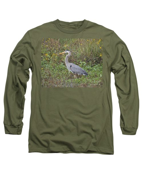A Bird In A Bush Long Sleeve T-Shirt