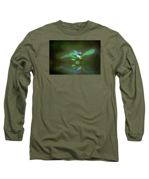 A Dream Of Green Long Sleeve T-Shirt by Kym Clarke