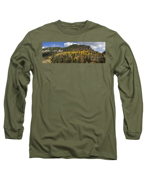 A Falls Day In Spearfish Canyon Of South Dakota Long Sleeve T-Shirt