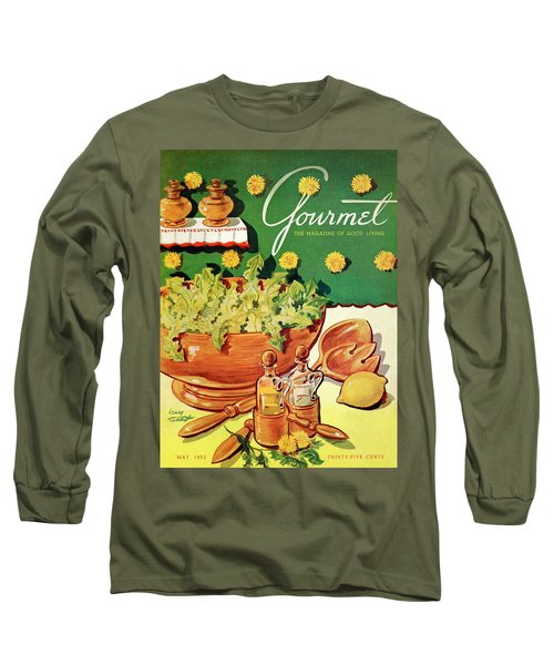 A Gourmet Cover Of Dandelion Salad Long Sleeve T-Shirt