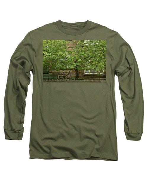 A Guardian In The Rain Long Sleeve T-Shirt