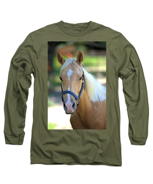 Long Sleeve T-Shirt featuring the photograph A Loyal Friend by Gordon Elwell