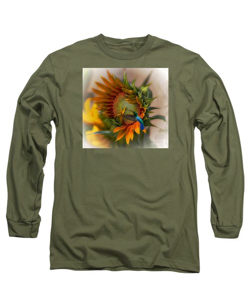 A Moment In Time Long Sleeve T-Shirt by John  Kolenberg