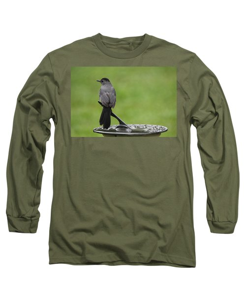 Long Sleeve T-Shirt featuring the photograph A Moment In Time by Trina  Ansel