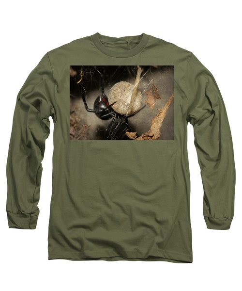 A Mothers Den Long Sleeve T-Shirt by Melanie Lankford Photography