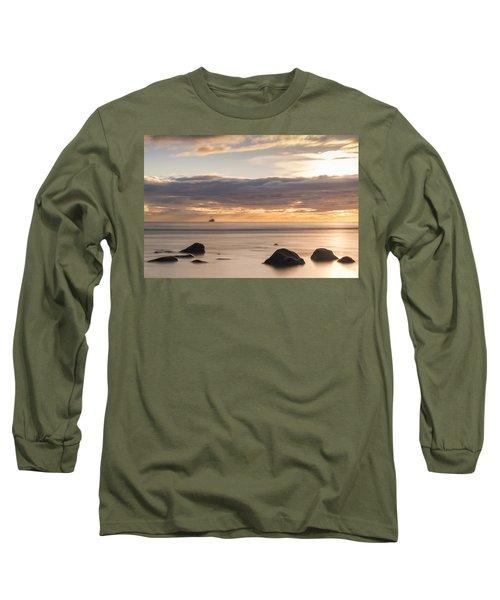 A Peaceful Sunrise Long Sleeve T-Shirt
