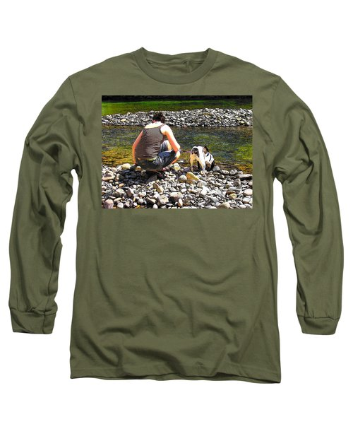 A Perfect Day Long Sleeve T-Shirt by Micki Findlay